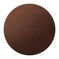 Mørk chokoladeis med appelsinsaft og syltede appelsin skaller
